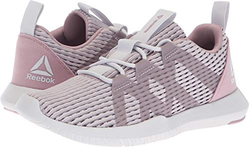 Reebok Women's Reago Pulse Cross Trainer, Lavender Luck/Infused Lil, 9 M US