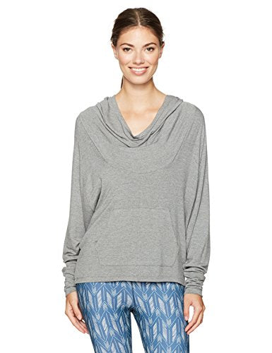 Lucy Women's Light Hearted Pullover, Silver Filigree Heather, M