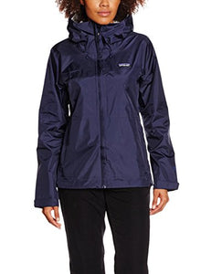 Patagonia Womens Torrentshell Jacket (Small, Navy Blue)