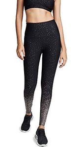 Beyond Yoga Women's Alloy Ombre High Waisted Midi Leggings