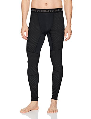 Under Armour Men's Coldgear Jacquard Compreshort Sleeveion Leggings