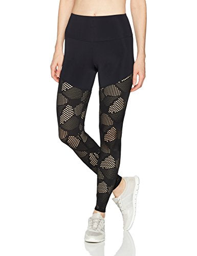 Onzie Women's Half 2.0 Honeycomb Mesh Capri, Women's Fitness Apparel, Women's Activewear, Getaway Fitness