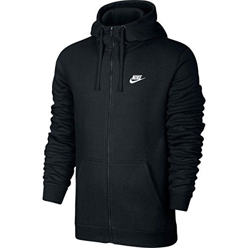 Nike Mens Sportswear Full Zip Club Hooded Sweatshirt