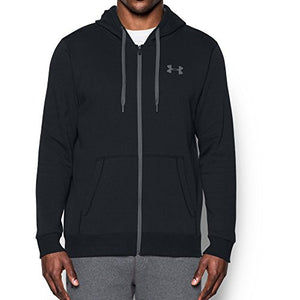 Under Armour UA Rival Fleece Fitted Full Zip XXX-Large Black