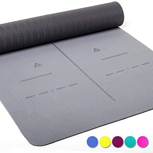 Heathyoga Eco Friendly Non Slip Yoga Mat
