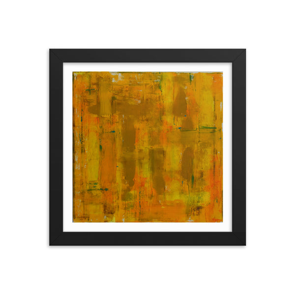 All Gold Everything - Framed Print