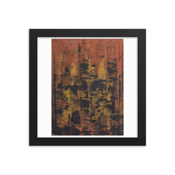 The City - Framed Print