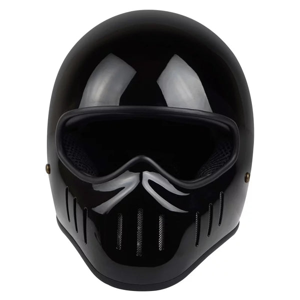 Casque Angry-mx NOIR BRILLANT