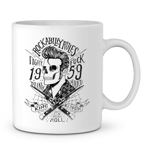Mug en Céramique - Rockabilly rules
