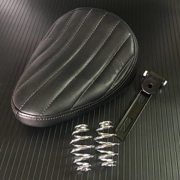 Selle solo Noir Tuck n' roll  + kit ressorts