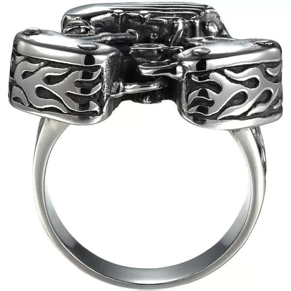 Bague Big V-twin Biker