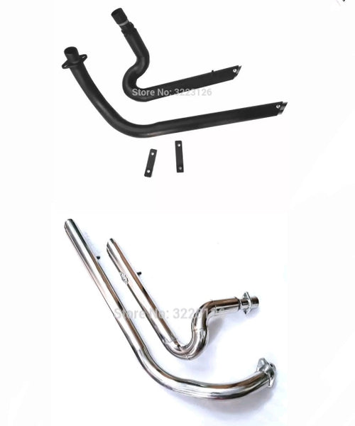 Échappements Drag-pipe slash cut Honda shadow 400 600 VLX600 VLX400