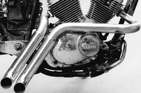 Échappements Turn-out Pipes - Yamaha xv 125/250 Virago