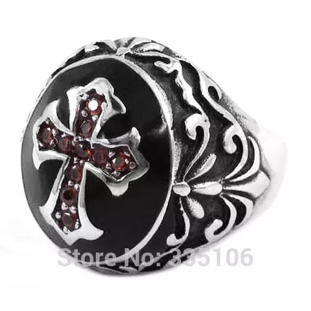 Bague biker Cross N Jewerly