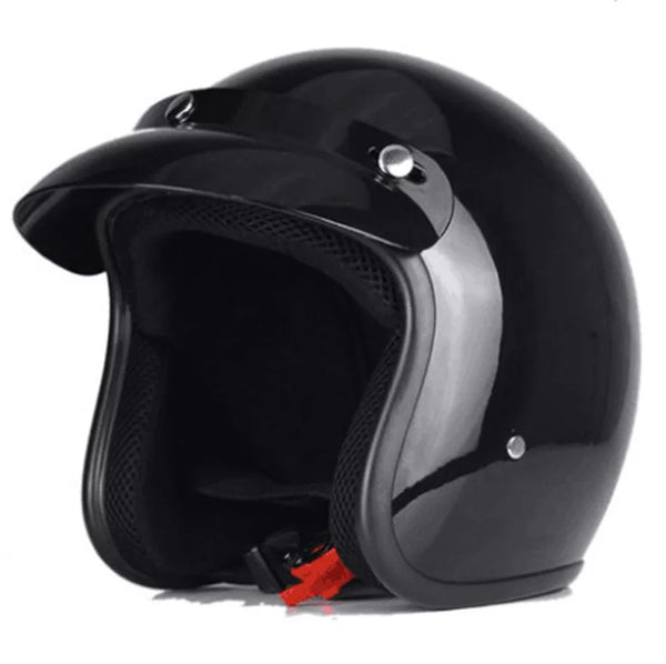Casque jet Classic Ride NOIR BRILLANT