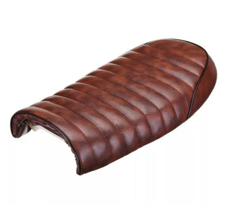 Selle Scrambler Marron / Tuck n' Roll + fixations