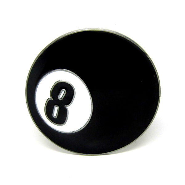 Boucle de ceinture eight ball Number 8