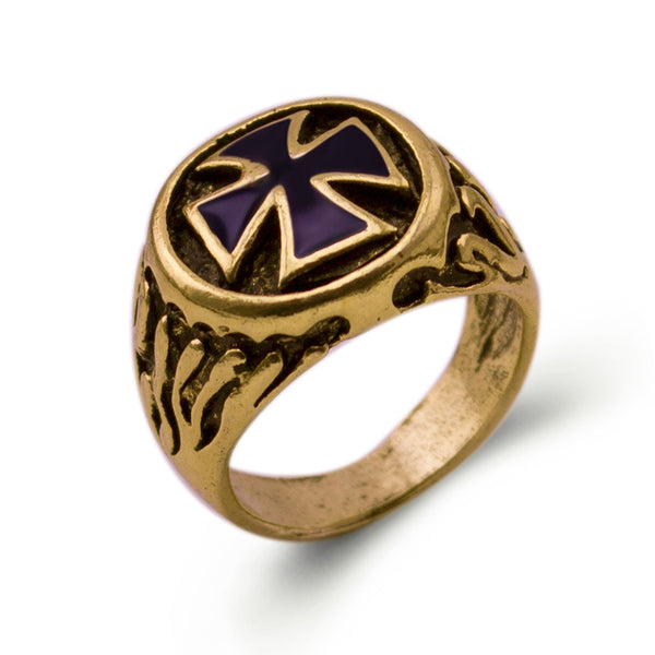 Bague Chopper'Cross on Gold