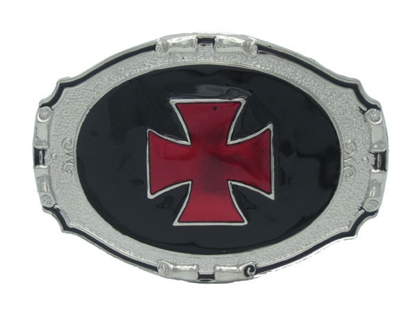 Iron Cross Gothic Belt Buckle