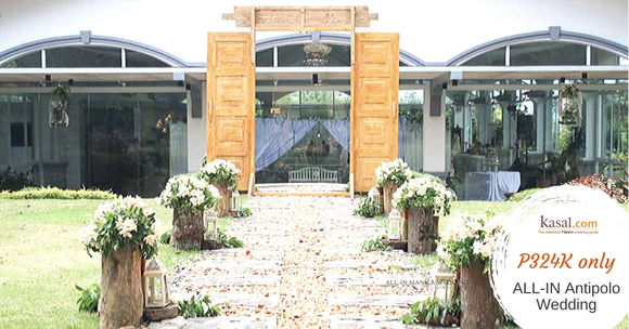 Antipolo Dream Wedding by Kasal.com (Complete Wedding Package All-in)