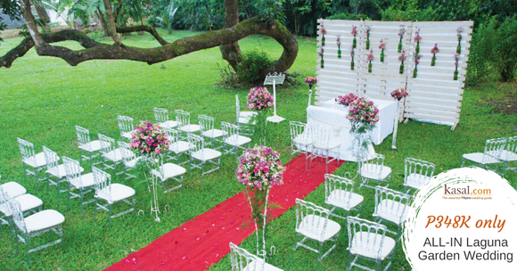 Laguna Garden Wedding by Kasal.com (Complete Wedding Package All-in)