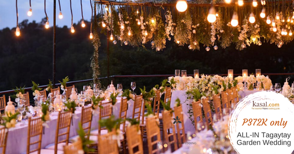 Tagaytay Dream Garden Wedding by Kasal.com (Complete Wedding Package All-in)