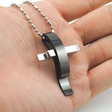 Load image into Gallery viewer, Cross Stainless Steel Necklace