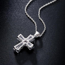 Load image into Gallery viewer, Elegant Cross Necklace