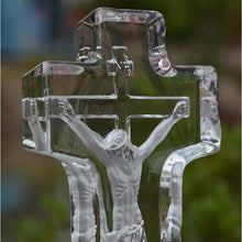 Load image into Gallery viewer, Crystal Glass Christian Figurine