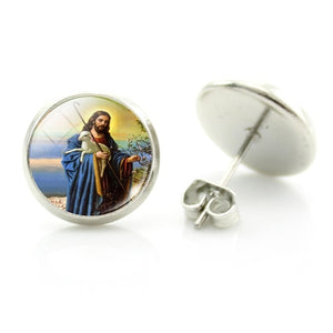 Mary Christian Earrings