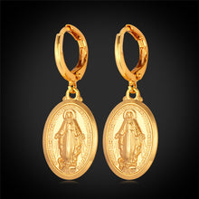 Load image into Gallery viewer, Virgin Mary Earrings