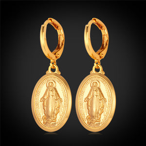 Virgin Mary Earrings