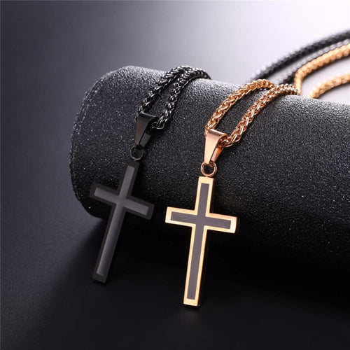 Chain Cross Necklace