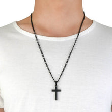 Load image into Gallery viewer, Cross Link Chain Necklace
