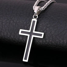 Load image into Gallery viewer, Chain Cross Necklace