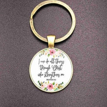 Load image into Gallery viewer, Christian Bible Keychain Holder