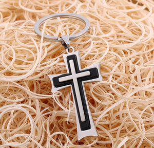 Fashion Cross Keychain