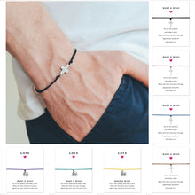 Load image into Gallery viewer, Sideways Cross Jesus Bracelet