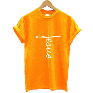 Vertical Cross Religious Shirt