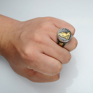 Religious Prayer Hand Ring