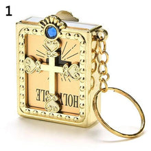 Load image into Gallery viewer, Mini Holy Bible Keychain