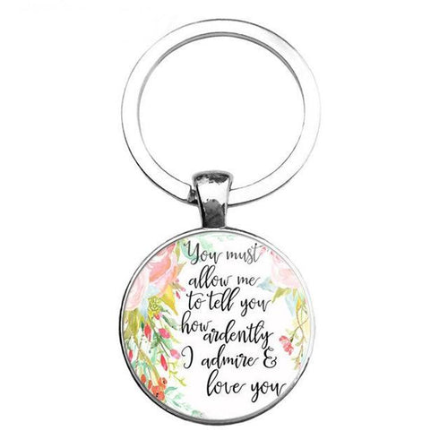Bible Quote Keychain