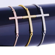 Load image into Gallery viewer, Christian Jesus Cross Bracelet