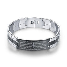 Load image into Gallery viewer, Christian Cross Sign Bracelet