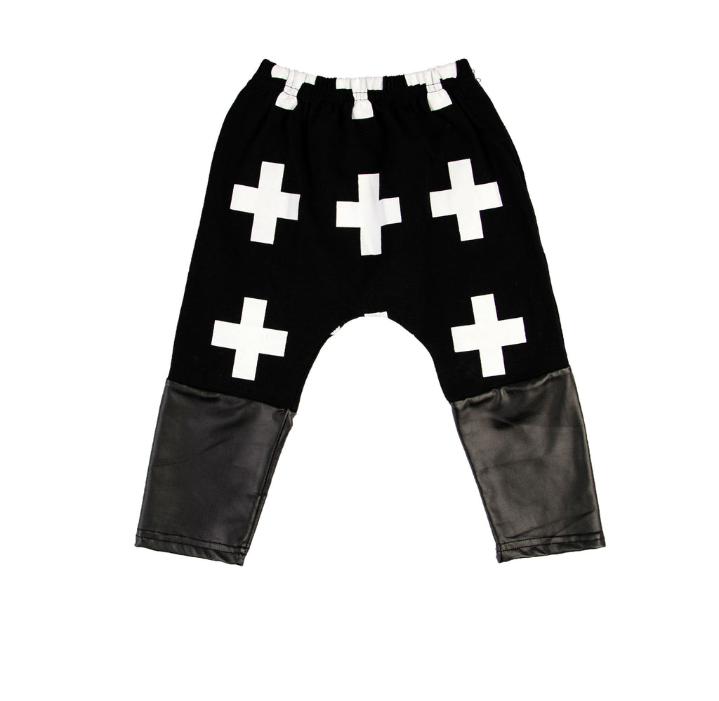 KIDS PANTS | CROSS PRINT