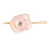 GIRLS LARGE FLOWER HEADBAND | APRICOT