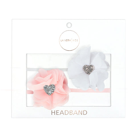 GIRLS STRETCH HEADBAND | SATIN BOW
