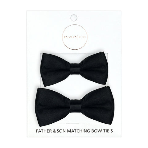 BOYS CHECK BOW TIE