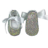 CRYSTAL BABY GIRL SHOES | RAINBOW CLEAR
