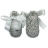 CRYSTAL BABY GIRL SHOES | CLEAR